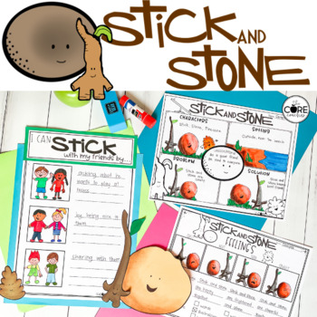 Stick and Stone Read-Aloud Activities