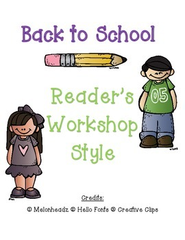Back to School: Reader's Workshop Style