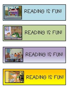 Back to School Reading Bookmarks Freebie