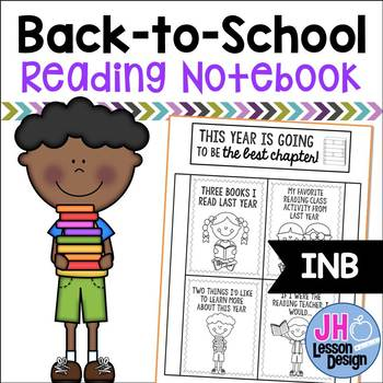 Back to School: Reading Notebook Foldable