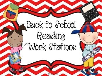Back to School Reading Workstations