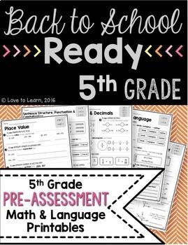 Back to School Ready - 5th Grade