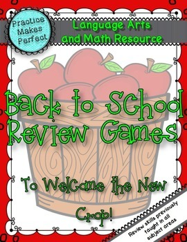 Back-to-School Review Games to Welcome the New Crop