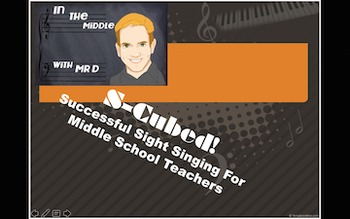 S-Cubed!  Successful Sight Singing Course for Middle School