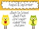 Back to School SAMPLE of my Making Words All Year Long Activity