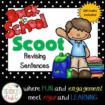 Back to School SCOOT Revising Sentences