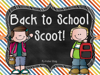 Back to School SCOOT!