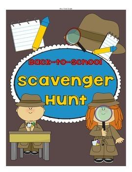 FREE Back-to-School Scavenger Hunt