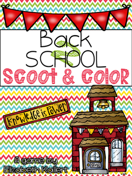 Back to School Scoot & Color