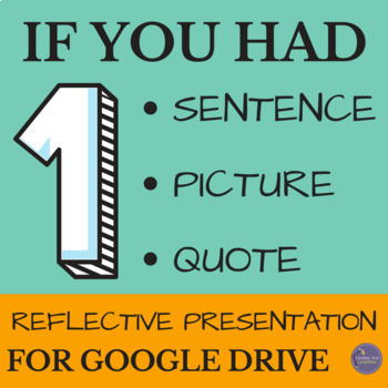 Analysis Presentation Assignment for Google Drive: Middle