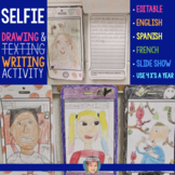 All About Me Drawing & Writing for Halloween and other tim
