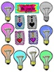 Back to School Set 3 Science and Math on Notebook Paper