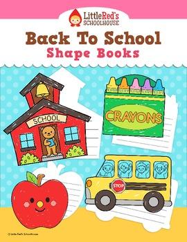 Back to School Shape Books - Free!