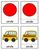 Back to School Shapes Fun / Interactive Cards / Montessori