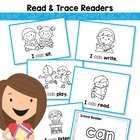 Back to School Sight Word Read Trace Readers