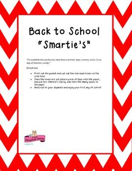 """Back to School """"Smarties"""""""
