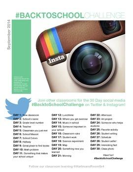 Back to School Social Media Challenge