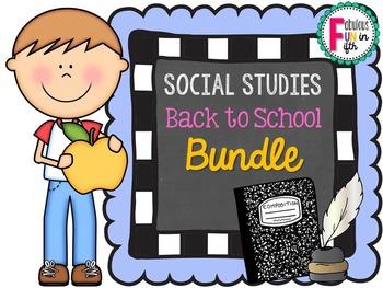 Back to School Social Studies BUNDLE