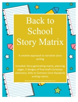 Back to School Story Matrix