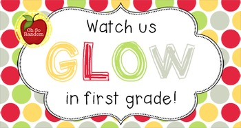 Back to School Student Gift Tag | GLOW