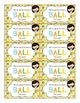Back to School Student Gift Tag   Have a BALL
