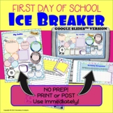 Back to School Ice Breaker {First Day of Class Student Inf