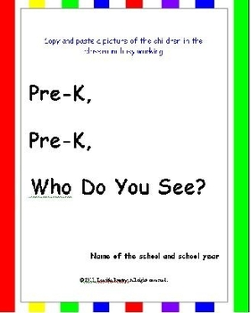 Back to School: Class book - Pre-Reading + Writing Skills