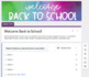 Back to School: Student Survey using Google Forms