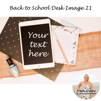 Back to School Styled Desk Image 21