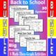 Back to School - The Big Bundle - 8 Math-Then-Graph Activi