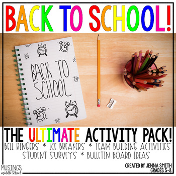 Back to School - The ULTIMATE Activity Pack