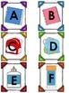 Back to School Themed Alphabet Match