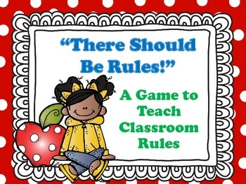 Back to School - Classroom Rules Game