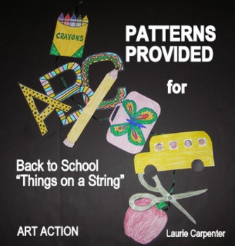 """Fall Fling - Back to School """"Things on a String"""""""