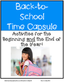 Back to School Time Capsule