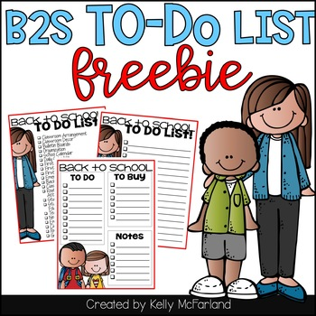Back to School To Do List {Freebie}