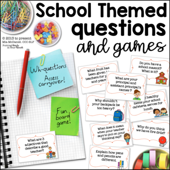 Back to School Trivia Questions & Games