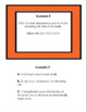 Back to School WHAT WOULD YOU DO? Scenario Cards