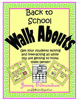 Back to School Walkabout