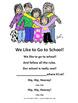 Back to School-We Love School