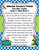 Back to School Brochure Swamp Theme- Editable