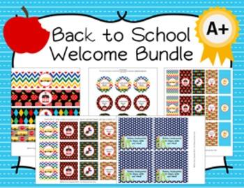 Back to School Welcome Bundle