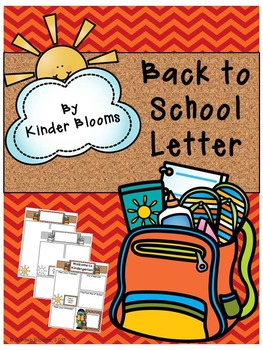 Back to School Welcome Letters {FREEBIE}
