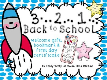 Back to School Welcome Pack (Stars Theme)