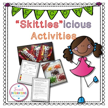 BACK TO SCHOOL ACTIVITIES - Skittles Math and Writing