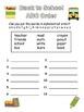 Back to School Word Search & ABC Order Freebie