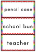 Back to School Word Wall