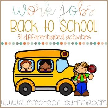 Back to School Work Jobs