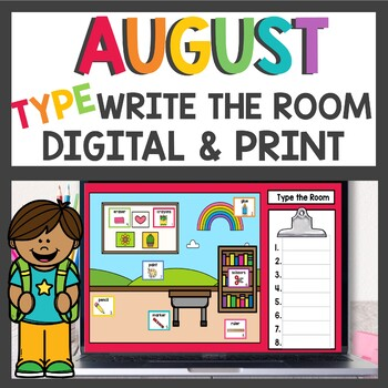 Write the Room Back To School / Task Cards