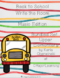 Back to School Write the Room Bundled Set Upper Elem (3 sets)
